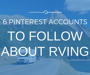 RV Pinterest Accounts to Follow