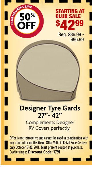 Designer Tyre Gards