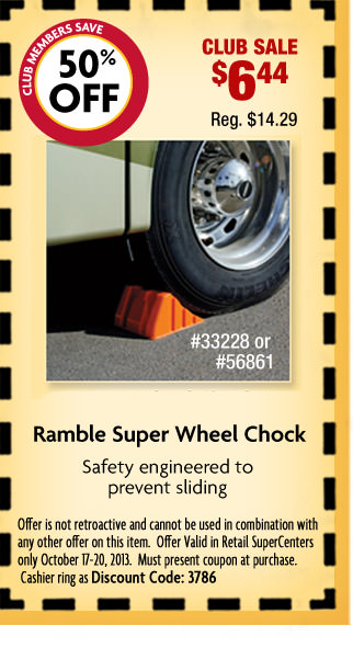Rambler Super Wheel Chock