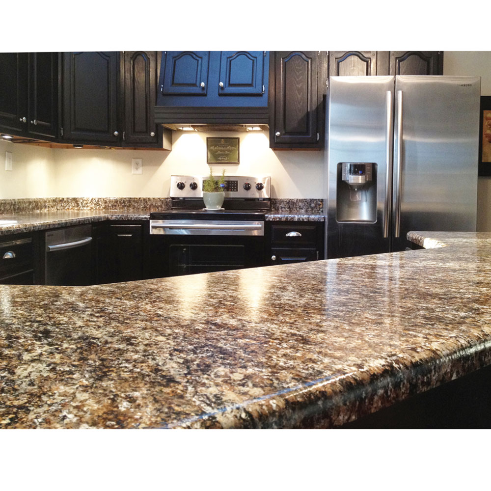 Diy Quot Granite Quot Countertops For Your Home Or Rv Kitchen