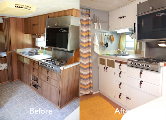 Lastest Camper Renovation After