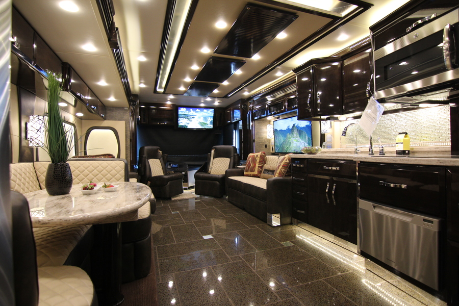 Top 5 Most Luxurious RVs Camping World