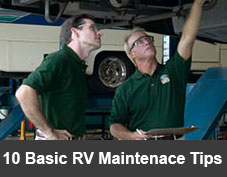 Basic RV Maintenance Tips