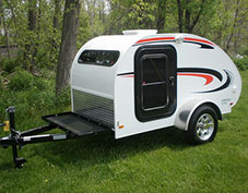 Little guy teardrop trailer camper at camping world