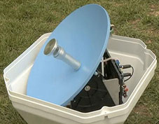 Portable Satellite RV Antenna for your RV - Dish Tailgater